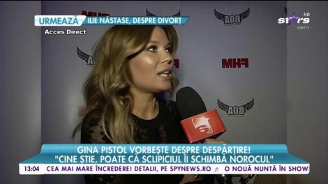 Gina Pistol vorbeşte despre despărţire! Ce spune frumoasa vedetă despre statutul de burlăciţă