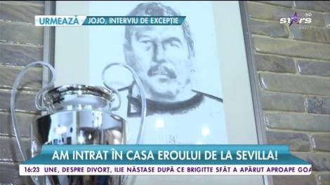 Am intrat în casa eroului de la Sevilla! Helmuth Duckadam ni le-a prezentat pe soția și fetița lui!