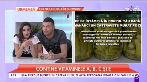 Castraveții murați au un conţinut important de antioxidanţi