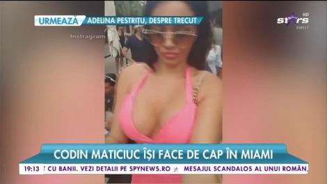 Codin Maticiuc îşi face de cap în Miami