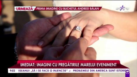 Fericire mare! Andreea Bălan și George Burcea s-au căsătorit în Malibu. Primele imagini de la eveniment!