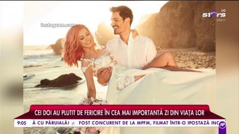 """Imagini din luna de miere a Andreei Bălan şi a lui George Burcea! Jurata de la """"Te cunosc de undeva"""", mai fericită ca niciodată!"""