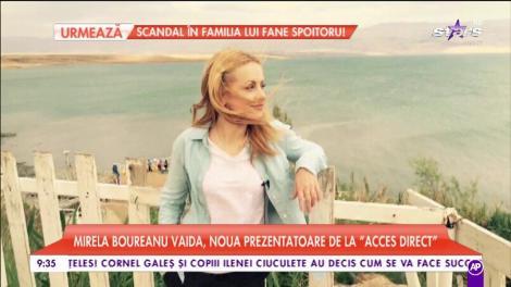 """Mirela Boureanu Vaida, noua prezentatoare de la """"Acces Direct"""": """"Sunt foarte deschisă la schimbări"""""""
