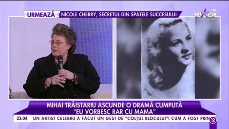 """Mihai Trăistariu comunică în vis cu cea care i-a dat viață: """"O visez pe mama de trei ori pe an"""""""
