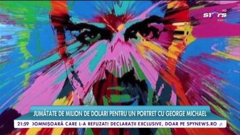 Jumătate de milion de dolari pentru un portret cu George Michael