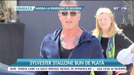Sylvester Stallone bun de plată