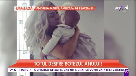 EMOŢII MARI pentru cel mai frumos eveniment! Andreea Bălan și George Burcea se pregătesc pentru botezul fiicei lor