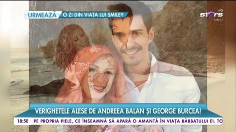 Cum arată bijuteriile pe care Andreei Bălan şi George Burcea le vor purta pentru tot restul vieţii