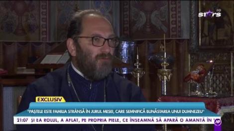 """În ultimele ore înainte de Învierea Domnului, țineți cont de îndemnul preotului Constantin Necula: """"A posti nu înseamnă a mânca fasole și a bea zeamă de varză"""""""