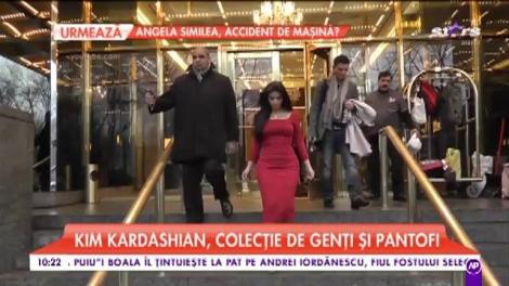 Kim Kardashian, colecție de genți și pantofi