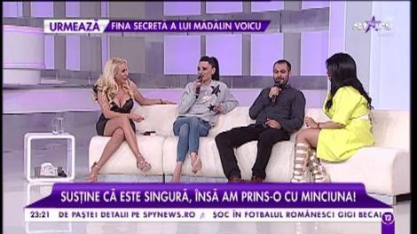 """Cosmina Păsărin se dă singură, dar a fost prinsă cu mâța-n sac! Vedeta a făcut anunțul: """"Vă așeptăm la nunta noastră"""""""