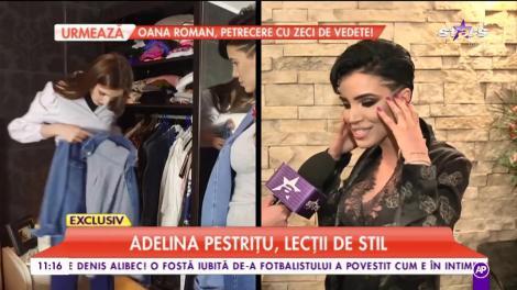"""Arată mereu ca scoasă din cutie! Cât timp petrece Adelina Pestriţu în fața oglinzii? """"Mă aranjez și cinci - șase ore!"""""""