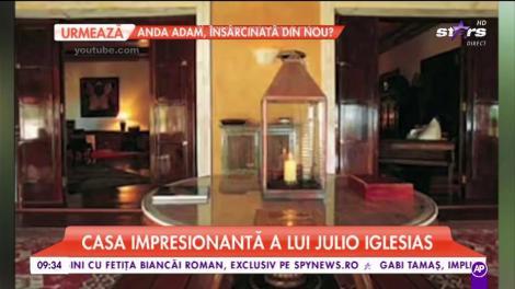 Julio Iglesias are o casă de milioane