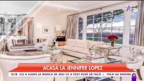 Casa lui Jennifer Lopez este definiția luxului! Are nu mai puțin de 11 băi