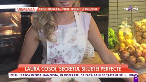 Laura Cosoi a dezvăluit secretul siluetei perfecte!
