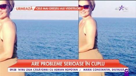 """Cristina Cioran, probleme serioase în cuplu: """"Sunt foarte vocală atunci când ne certăm"""""""