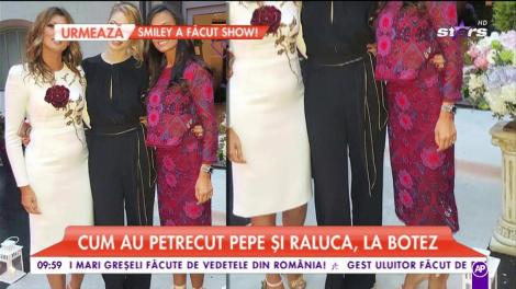 Andreea Bănică, o altă mămică fericită! Imagini inedite de la petrecerea de botez a micuţului Noah. Cei doi părinții sunt mai îndrăgostiți ca niciodată