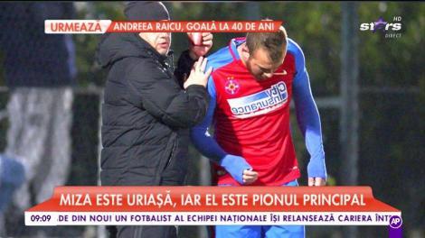 Denis Alibec, omul de încredere al lui Gigi Becali! Fotbalistul din în ce mai implicat în afacerile latifundiarului din Pipera