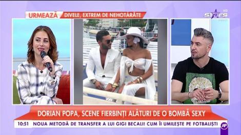 Dorian Popa, scene fierbinți alături de o bombă sexy. Noul videoclip al artistului, unul extrem de incitant