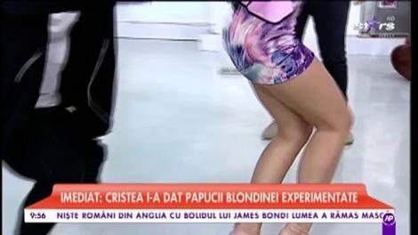 Raluca Dumitru, dans provocator în platoul Star Matinal