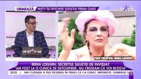 Irina Loghin, de nerecunoscut. Cântăreața a slăbit foarte mult în câteva zile!