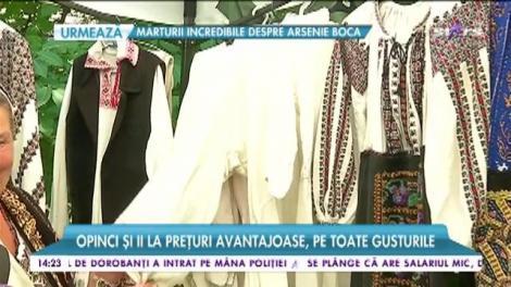 Articole tradiţionale româneşti, în centrul capitalei