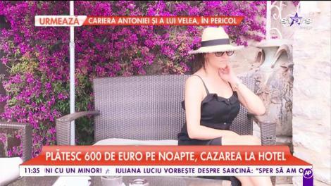 Claudia Pătrăşcanu, răsfăț de cinci stele în Monaco