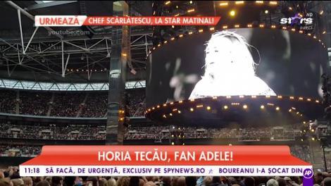 Horia Tecău, mare fan Adele