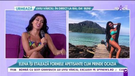 """Elena s-a apucat intens de sport: """"Sunt cu zece kilograme mai slabă decât în perioada Mandinga"""""""
