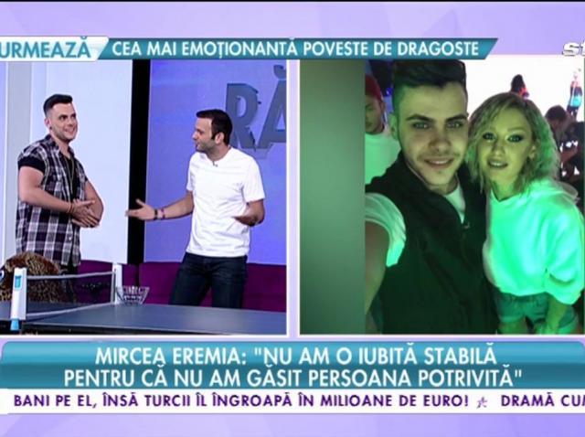"""Mircea Eremia, fratele juratei """"Next Star"""": """"Nu am iubită stabilă pentru că nu am găsit persoana potrivită"""""""