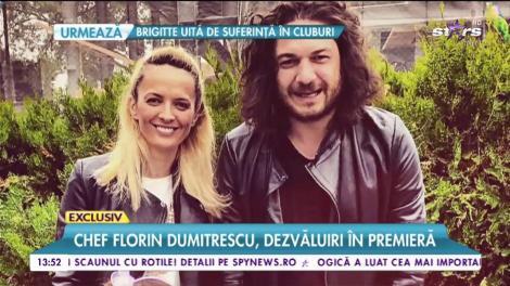 """Chef Florin Dumitrescu, dezvăluiri în premieră despre viața sa personală: """"Soţia mea este şefa"""""""