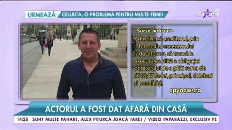 Costin Mărculescu a fost dat afară din casă