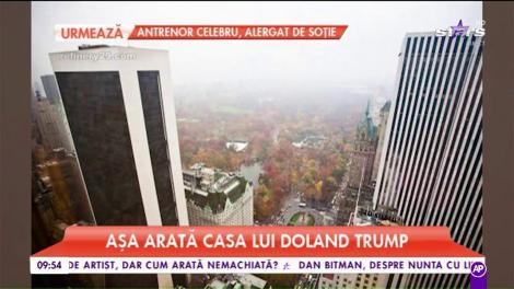 Donald Trump, penthouse incredibil în New York