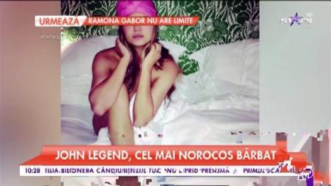 Chrissy Teigen, cea mai frumoasă soție de artist! John Legend nu a avut noroc numai de un talent excepţional