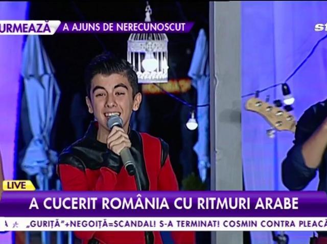 """Îl mai ţii minte pe câştigătorul """"Next Star"""" din primul sezon? Cum arată acum Omar, puștiul care a cucerit România cu ritmurile arabe"""