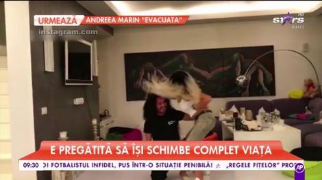 Ce mişcări, câtă senzualitate... Adelina Pestriţu versus Shakira! Bruneta îi face concurenţă celebrei artiste