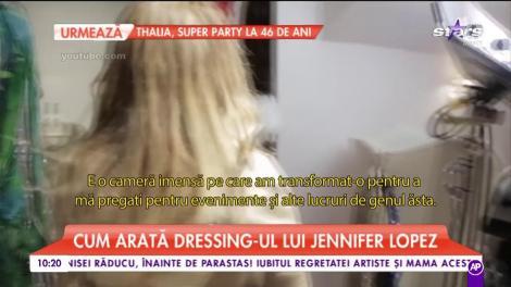 Cum arată dressing-ul lui Jennifer Lopez