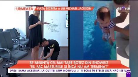 Andrei Ştefănescu şi iubita lui fac ultimele pregătiri pentru botez