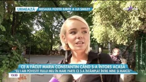 """Maria Constantin a recunoscut că îi este greu după divorţul de Marcel Toader! Artista a trebuit să plece din Bucureşti pentru a se linişti: """"Este o perioadă foarte stresanta"""""""
