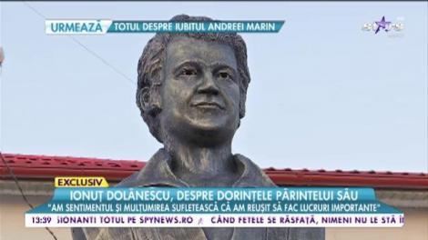Ionuț Dolănescu povestește despre dorințele părintelui său, Ion Dolănescu
