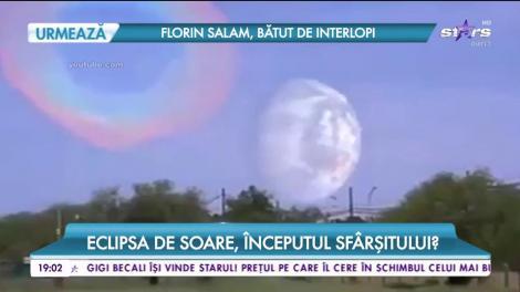 Eclipsa de soare, începutul sfârșitului?