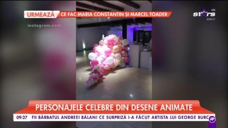 Ana Radu, party surpriză pentru fetiță