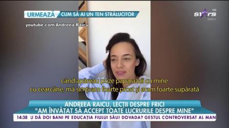 Andreea Raicu, urmărită toată viaţa de traumele copilăriei