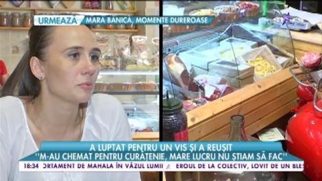 Scenariu de film! O românca a ajuns de la mătură la propriul restaurant în centrul Capitalei