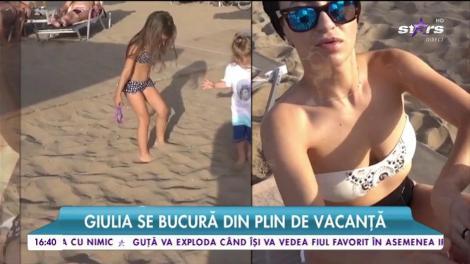Giulia, vacanță de neuitat împreună cu familia
