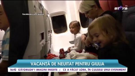 Vacanţă de neuitat pentru Giulia