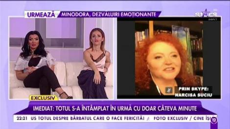 """Narcisa Suciu, o femeie împlinită: """"Fiica mea mi-a zpus că se va mărita după 36 de ani"""""""