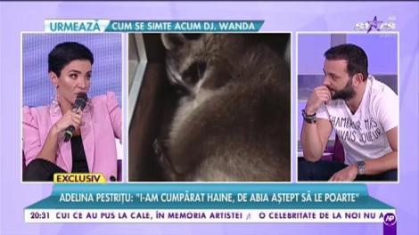 """Adelina Pestrițu, mândră de animalele sale de companie: """"Poate îmi fac hotel de ratoni"""""""