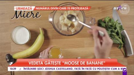 Rețeta de mousse de banane a Andreei Raicu