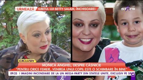 """Monica Anghel, desore căsnicie: """"Mi se pare normal ca un părinte să fie corect faţă de copilul lui"""""""